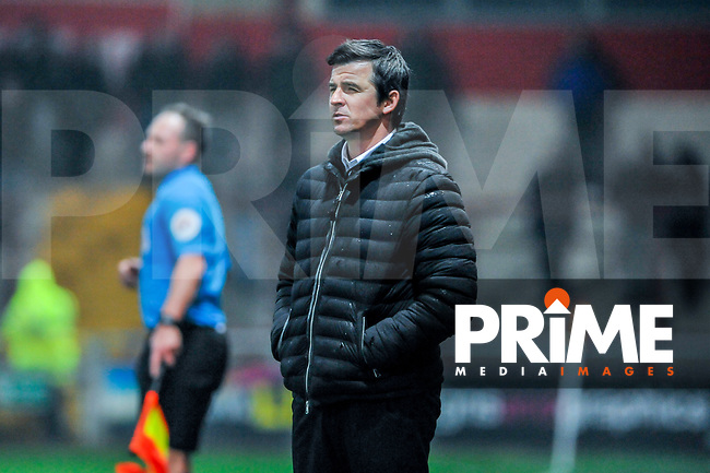 during the Sky Bet League 1 match between Fleetwood Town and Coventry City at Highbury Stadium, Fleetwood, England on 27 November 2018. Photo by Stephen Buckley / PRiME Media Images.