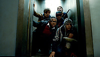 Attack the Block (2011) <br /> John Boyega, Jodie Whittaker, Alex Esmail, Leeon Jones &amp; Luke Treadaway<br /> *Filmstill - Editorial Use Only*<br /> CAP/KFS<br /> Image supplied by Capital Pictures