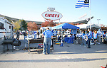 27 October 2007: Kansas City fans tailgate outside of Arrowhead stadium. The Kansas City Wizards defeated Club Deportivo Chivas USA 1-0 in the first leg of their Major League Soccer Western Conference Semifinal playoff series at Arrowhead Stadium in Kansas City, Missouri.