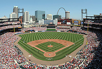 ST LOUIS - APRIL  05:   at Busch Stadium in St. Louis, Missouri on APRIL 5, 2007.   (Photo by CHRIS BERNACCHI/MLB Photos via Getty Images)
