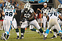 VLADIMIR DUCASSE, of the New York Jets in action during the Jets game against the Carolina Panthers  at Bank of America Stadium in Charlotte, N.C.  on August 21, 2010.  The Jets beat the Panthters 9-3 in the second week of preseason games...