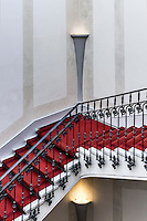 Formal staircase.