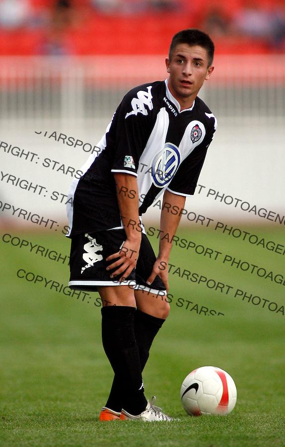 Fudbal, Meridijan super liga, sezona 2007/08.Vojvodina Vs. Partizan.Zoran Tosic.Novi Sad, 11.08.2007..foto: Srdjan Stevanovic