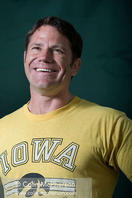 British naturalist, writer and television presenter Steve Backshall, pictured at the Edinburgh International Book Festival where he talked about his children's television series entitled 'Deadly 60'. The three-week event is the world's biggest literary festival and is held during the annual Edinburgh Festival. The 2011 event featured talks and presentations by more than 500 authors from around the world..
