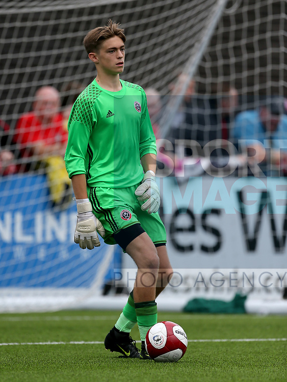 Marcus Dewhurst of Sheffield Utd during the pre season match at the Flamingo Land Stadium, Scarborough. Picture date 15th July 2017. Picture credit should read: Richard Sellers/Sportimage