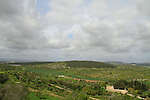 Israel, Lower Galilee, a view north from Zippori