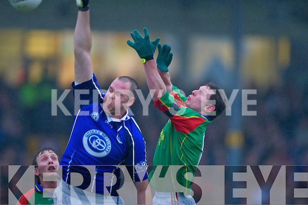 The AIB COUNTY SENIOR FOOTBALL CHAMPIONSHIP FINAL which ended in a draw at Fitzgerald Stadium on Sunday KERINS O'RAHILLYS 2-8 MID KERRY 2-8.   Copyright Kerry's Eye 2008