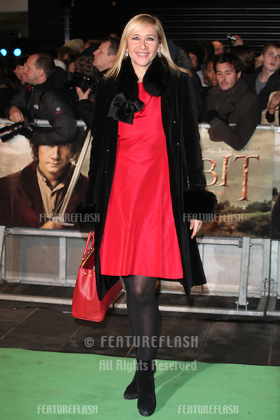 Tania Bryer arriving for The hobbit Premiere, Odeon Leicester Square, London. 12/12/2012 Picture by: Alexandra Glen / Featureflash