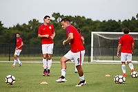 Lakewood Ranch, FL - Sunday July 23, 2017: Timothy Blodgett during an international friendly match between the paralympic national teams of the United States (USA) and Canada (CAN) at Premier Sports Campus at Lakewood Ranch.