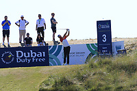 Ruaidhri McGee (IRL) tees off the 3rd tee during Friday's Round 2 of the 2018 Dubai Duty Free Irish Open, held at Ballyliffin Golf Club, Ireland. 6th July 2018.<br /> Picture: Eoin Clarke | Golffile<br /> <br /> <br /> All photos usage must carry mandatory copyright credit (&copy; Golffile | Eoin Clarke)