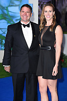 "LONDON, UK. December 12, 2018: Steve Backshall & Helen Glover at the UK premiere of ""Mary Poppins Returns"" at the Royal Albert Hall, London.<br /> Picture: Steve Vas/Featureflash"