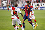 Barcelona´s Busquets during La Liga match between Rayo Vallecano and Barcelona at Vallecas stadium in Madrid, Spain. October 04, 2014. (ALTERPHOTOS/Victor Blanco)