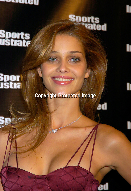 Ana Beatriz Barros..at the 2004 Sports Illustrated Swimsuit Issue Press Event at ..Deep in NYC on Tuesday 10, 2004.                              Photo by Robin Platzer, Twin Images
