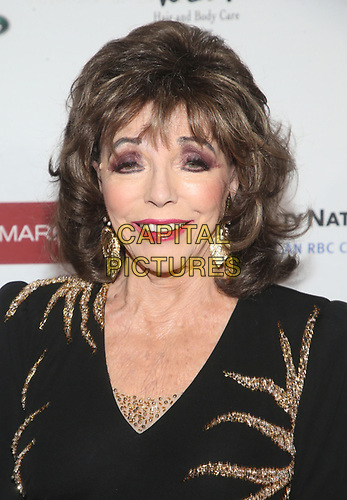 BEVERLY HILLS, CA - NOVEMBER 7: Joan Collins at the Mark Zunino Atelier Fashion and Cocktail Reception to benefit the Elizabeth Taylor Foundation hosted by Dame Joan Collins on November 7, 2019.        <br /> CAP/MPI/SAD<br /> ©SAD/MPI/Capital Pictures