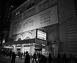 Theatre Marquee unveiling for the  forthcoming Broadway revival of Michael Stewart and Jerry Herman's 'Hello, Dolly!' starring Bette Midler  at the Shubert Theatre on January 5, 2017 in New York City.