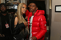 NEW YORK, NY - April 27: Laurieann Gibson and Christian Combs backstage at the 2017 Tribeca Film Festival Screening of Can't Stop, Won't Stop: The Bad Boy Story at The Beacon Theater in New York City on  April 27, 2017. Credit: Walik Goshorn /MediaPunch