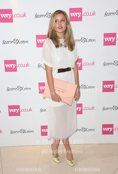 Caggie Dunlop at the launch of the SS14 Fashion Collection for Very.co.uk as part of London Fashion Week held at Claridges <br /> London. 12/09/2013 Picture by: Henry Harris / Featureflash