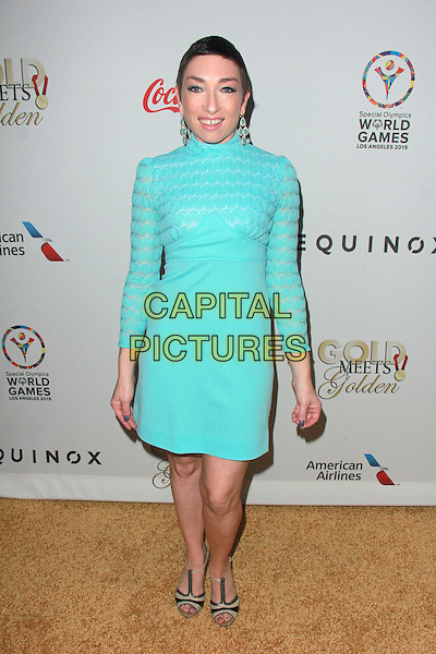 LOS ANGELES, CA - FEBRUARY 21: Naomi Grossman at the Third Annual Gold Meets Golden Event at Equinox Sports Club in Los Angeles, California on February 21, 2015. <br /> CAP/MPI/DC/DE<br /> &copy;DE/DC/MPI/Capital Pictures