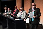 "Copenhagen - Denmark, December 05, 2018 -- International Trade Union Confederation - 4th ITUC World Congress 'Building Workers' Power' at Bella Center; here, debate on Pillar 3 of the draft statement ""Global Shifts - Just Transitions"" -- Photo: © HorstWagner.eu / ITUC"