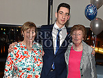 Dean Godfrey celebrating his 21st birthday in Brú with grandmothers Noleen Walford and Maeve Levins. Photo:Colin Bell/pressphotos.ie