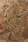 Israel, Carmel Coast. Mosaic at the Mizgaga Museum in Kibbutz Nahsholim