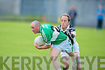 Ardfert's Niall Clifford and Killarney Legion's Kieran Slattery.