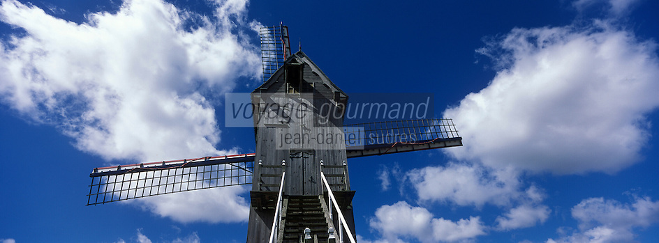 Europe/France/Nord-Pas-de-Calais/59/Nord/Hondschoote : Moulin de la victoire Spinnewyn