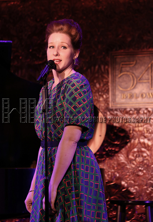 Molly Pope attending the 78th Annual New York Drama Critics Circle Awards at 54 Below in New York City on 5/13/2013..