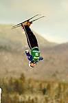 14 January 2005 - Lake Placid, New York, USA - Lacy Schnoor representing the USA, competes in the FIS World Cup Ladies' Aerial acrobatic competition, ranking 12th for the day at the MacKenzie-Intervale Ski Jumping Complex, in Lake Placid, NY. ..Mandatory Credit: Ed Wolfstein Photo.
