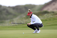 Amelia Garvey (NZL) on the 7th green during Round 3 Matchplay of the Women's Amateur Championship at Royal County Down Golf Club in Newcastle Co. Down on Friday 14th June 2019.<br /> Picture:  Thos Caffrey / www.golffile.ie