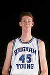 Bradley mug<br /> <br /> 45 Shawn Bradley<br /> <br /> Photo by Mark A. Philbrick/BYU<br /> <br /> Copyright BYU Photo 2012<br /> All Rights Reserved<br /> photo@byu.edu  (801)422-7322