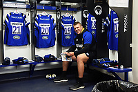 Sam Nixon of Bath Rugby looks on in the changing rooms prior to the match. Gallagher Premiership match, between Bath Rugby and Wasps on May 5, 2019 at the Recreation Ground in Bath, England. Photo by: Patrick Khachfe / Onside Images