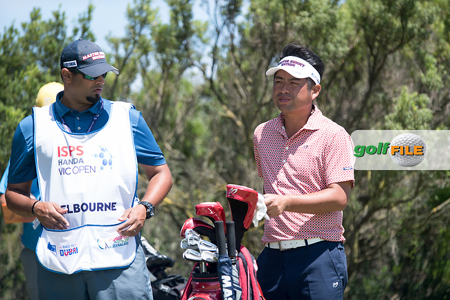 Yuta Ileda (JPN) during the 2nd round of the VIC Open, 13th Beech, Barwon Heads, Victoria, Australia. 08/02/2019.<br /> Picture Anthony Powter / Golffile.ie<br /> <br /> All photo usage must carry mandatory copyright credit (© Golffile | Anthony Powter)