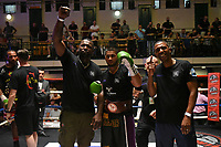 Arfan Iqbal defeats Wadi Camacho during a Boxing Show at York Hall on 9th July 2017