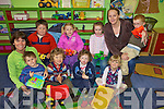 CHILDCARE: Some of the children at the Daisy Chains childcare centre in Asdee, which is enrolling for September, with staff members Tara Moran and Caroline O'Neill.