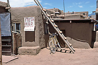Indian fry bread for sale at Taos Pueblo, New Mexico