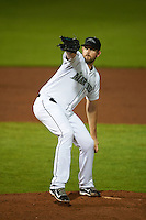 Peoria Javelinas pitcher James Paxton (65) delivers a pitch during an Arizona Fall League game against the Scottsdale Scorpions on October 24, 2015 at Peoria Stadium in Peoria, Arizona.  Peoria defeated Scottsdale 3-1.  (Mike Janes/Four Seam Images)