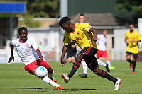 Watford's Brandon Mason in action during Woking vs Watford, Friendly Match Football at The Laithwaite Community Stadium on 8th July 2017