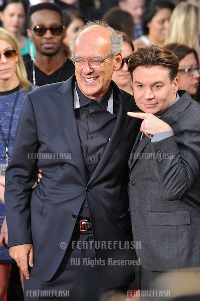 Mike Myers &amp; Shep Gordon at the 2014 Hollywood Film Awards at the Hollywood Palladium.<br /> November 14, 2014  Los Angeles, CA<br /> Picture: Paul Smith / Featureflash
