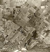 historical aerial photograph Irvine, California, 1963