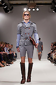 LONDON, ENGLAND - London Fashion Week, S/S 2011 collection by designer Elliott J. Frieze