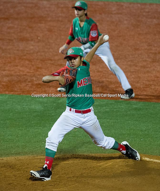 August 15, 2014: Scott Serio/Ripken Baseball/CSM