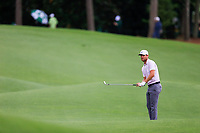 Lucas Bjerregaard (DEN) on the 18th fairway during the 2nd round at the The Masters , Augusta National, Augusta, Georgia, USA. 12/04/2019.<br /> Picture Fran Caffrey / Golffile.ie<br /> <br /> All photo usage must carry mandatory copyright credit (© Golffile | Fran Caffrey)