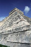 Pyramid of Kukulcan at Chichen Itza, Yucatan, Mexico