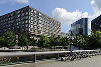 Bâtiment Robert Schumann an der Place d'Europe auf em Kirchberg, Stadt Luxemburg, Luxemburg