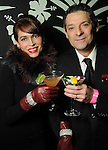 Karina and Carlos Barbieri at Martini Madness at the Center for Contemporary Craft Thursday Jan. 22,2015.(Dave Rossman For the Chronicle)