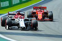 17th November 2019; Autodromo Jose Carlos Pace, Sao Paulo, Brazil; Formula One Brazil Grand Prix, Race Day; Charles Leclerc (MON) Scuderia Ferrari SF90 - Editorial Use