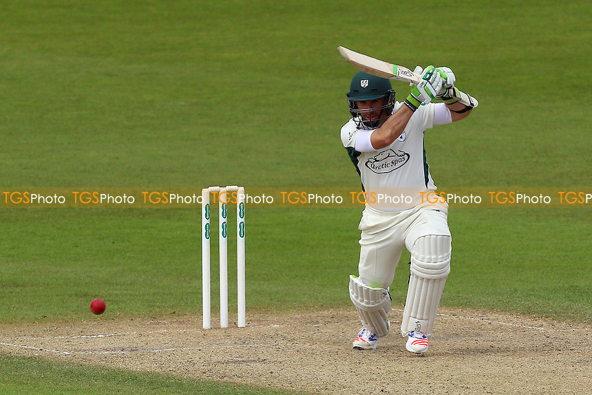 Daryl Mitchell hits four runs for Worcestershire during Worcestershire CCC vs Essex CCC, Specsavers County Championship Division 2 Cricket at New Road on 3rd May 2016