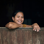 A woman in Tuingo, an ethnic Chin village in Myanmar.