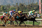 ARCADIA, CA  FEBRUARY 3 : The start of the Robert B. Lewis Stakes (Grade lll) on February 3, 2018 at Santa Anita Park in Arcadia, CA.(Photo by Casey Phillips/ Eclipse Sortswire/ Getty Images)